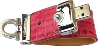 Usb flash накопитель Prestigio Leather Flash Pink 8GB (PLDF08CRPKA) - общий вид