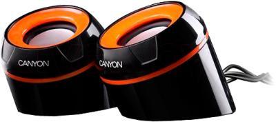 Мультимедиа акустика Canyon CNR-FSP02 (черный) - общий вид