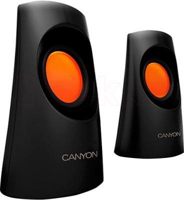 Мультимедиа акустика Canyon CNR-SP20IB (черно-оранжевый) - общий вид