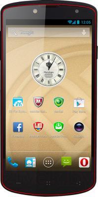 Смартфон Prestigio MultiPhone 7500 (16Gb, черный) - общий вид