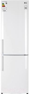 Холодильник с морозильником LG GA-B489YVCZ - общий вид