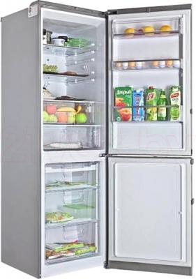 Холодильник с морозильником LG GA-B489YLCZ - в открытом виде