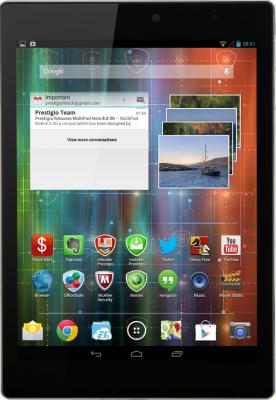 Планшет Prestigio MultiPad 4 Diamond 7.85 16GB 3G (PMT7077_3G_D_BK) - общий вид