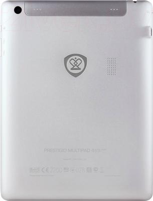 Планшет Prestigio MultiPad 4 Ultra Quad 8.0 8GB 3G (PMT7287_3G_C_WH) - вид сзади