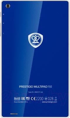 Планшет Prestigio MultiPad Color 7.0 16GB 3G (PMT5777_3G_D_BL) - вид сзади