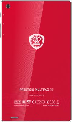 Планшет Prestigio MultiPad Color 7.0 16GB 3G (PMT5777_3G_D_RD) - вид сзади
