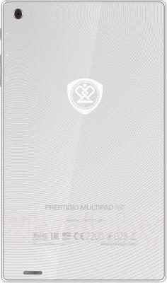 Планшет Prestigio MultiPad Color 7.0 16GB 3G (PMT5777_3G_D_WH) - вид сзади