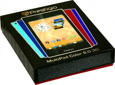 Планшет Prestigio MultiPad Color 8.0 16GB 3G (PMT5887_3G_D_BL) - коробка