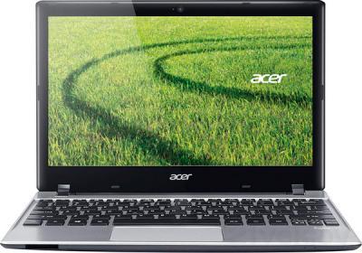 Ноутбук Acer Aspire V5-123-12104G50nss (NX.MFREU.006) - фронтальный вид