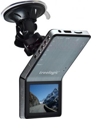 Автомобильный видеорегистратор Treelogic TL-DVR 2401T Slim - общий вид