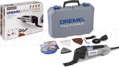Профессиональный мульти-инструмент Dremel Multi Max MM20 (F.013.MМ2.0JF) - комплектация