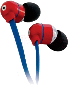 Наушники Canyon CNA-SEP05R (Red-Blue) - общий вид