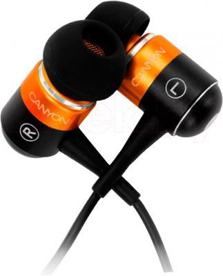 Наушники Canyon CNR-EP08NO (Black-Orange) - общий вид