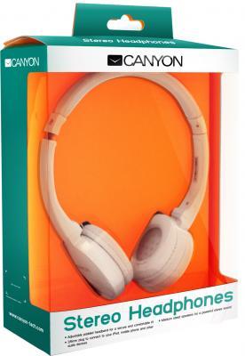 Наушники Canyon CNR-HP04NW (White) - в упаковке