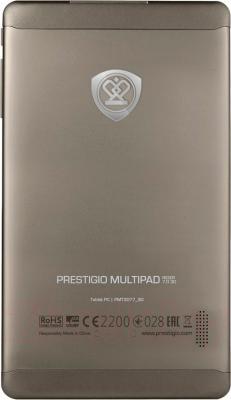 Планшет Prestigio MultiPad Rider 7.0 8GB 3G (PMP3007C3GCIS) - вид сзади