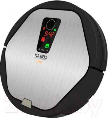 Робот-пылесос iClebo Arte YCR-M05 (серебристый)
