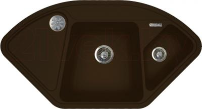 Мойка кухонная Florentina Капри (Mokko) - реальный цвет модели может немного отличаться