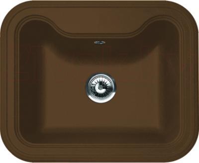 Мойка кухонная Florentina Крит-630 (Brown) - реальный цвет модели может немного отличаться