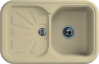 Мойка кухонная Florentina Крит-780 (Champagne) - реальный цвет модели может немного отличаться