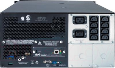ИБП APC Smart-UPS 5000VA Rackmount/Tower (SUA5000RMI5U) - вид сзади
