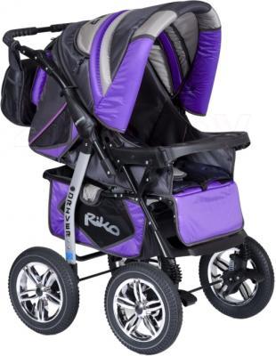 Детская универсальная коляска Riko Driver (Neon Blue) - общий вид