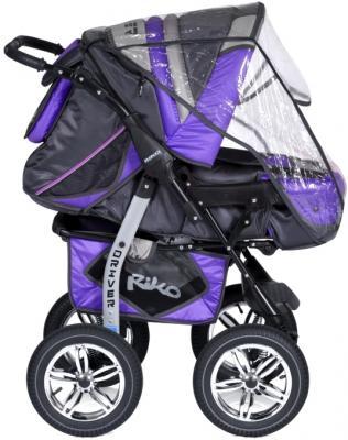 Детская универсальная коляска Riko Driver (Neon Blue) - с дождевиком