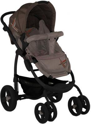 Детская универсальная коляска Lorelli Avio (Beige Light Brown) - прогулочный вариант