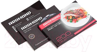 Мультиварка-скороварка Redmond RMC-M140 - Книга рецептов + Руководство по эксплуатации