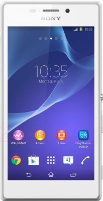 Смартфон Sony Xperia M2 Dual / D2302 (белый) - общий вид