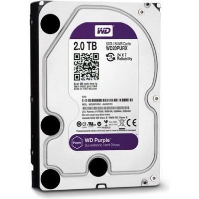 Жесткий диск Western Digital Purple 2TB (WD20PURX) - общий вид