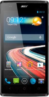 Смартфон Acer Z150 (серый) - общий вид