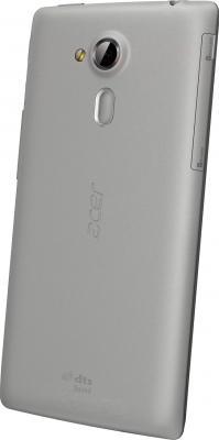 Смартфон Acer Z150 (серый) - вид сзади
