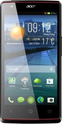Смартфон Acer Liquid E3 Duo E380 (черный) - общий вид