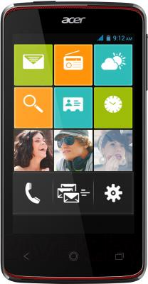 Смартфон Acer Liquid Z4 Duo Z160 (Black) - общий вид