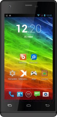 Смартфон TeXet TM-4872 (X-medium Plus) (Black) - общий вид