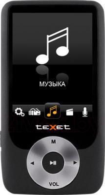 MP3-плеер TeXet T-79 (8Gb, Black) - общий вид