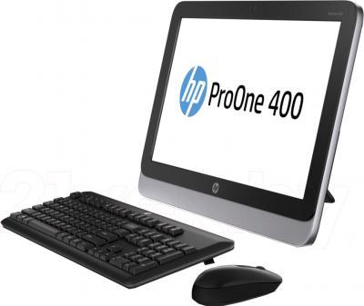 Моноблок HP 400 ProOne AiO (D5U14EA) - общий вид