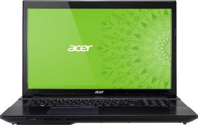 Ноутбук Acer Aspire V3-772G-54218G1TMakk (NX.MMCEU.016) - фронтальный вид
