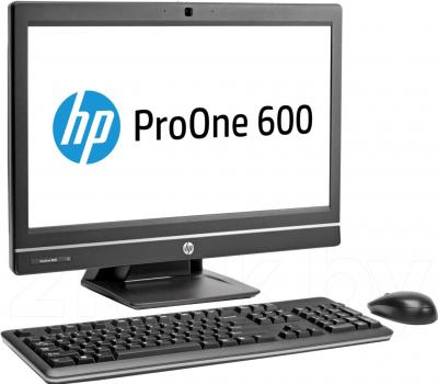 Моноблок HP ProOne 600 G1 (F3X00EA) - вид сбоку
