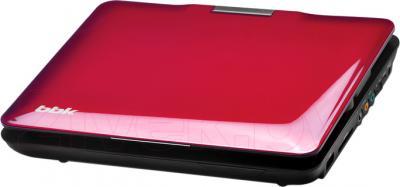 Портативный DVD-плеер BBK PL747TI (темная вишня) - общий вид