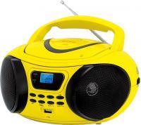 Магнитола BBK BX107U (желто-черный) -