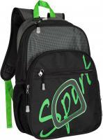 Рюкзак городской Globtroter 1350 (черно-зеленый) -