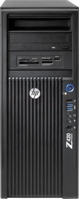 Системный блок HP Z420 (WM592EA) - вид спереди
