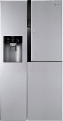 Холодильник с морозильником LG GC-J237JAXV - общий вид