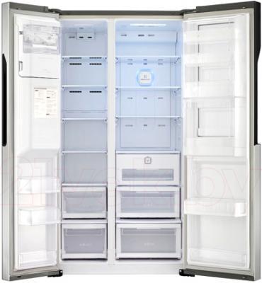Холодильник с морозильником LG GC-J237JAXV - в открытом виде