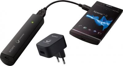 Портативный аккумулятор Sony CP-ELSAB - зарядка