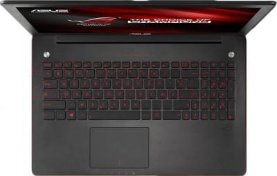 Ноутбук Asus G550JK-CN216D - вид сверху