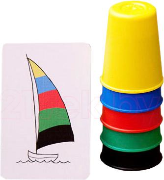 Настольная игра Стиль Жизни Скоростные колпачки / Speed cups - игровая карточка и игровые стаканчики