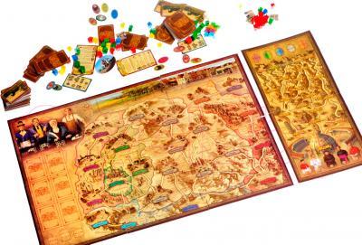 Настольная игра Мир Хобби Турн и Таксис: Королевская почта - общий вид