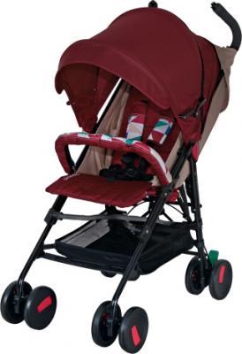 Детская прогулочная коляска Coletto Piccolo (Red) - общий вид
